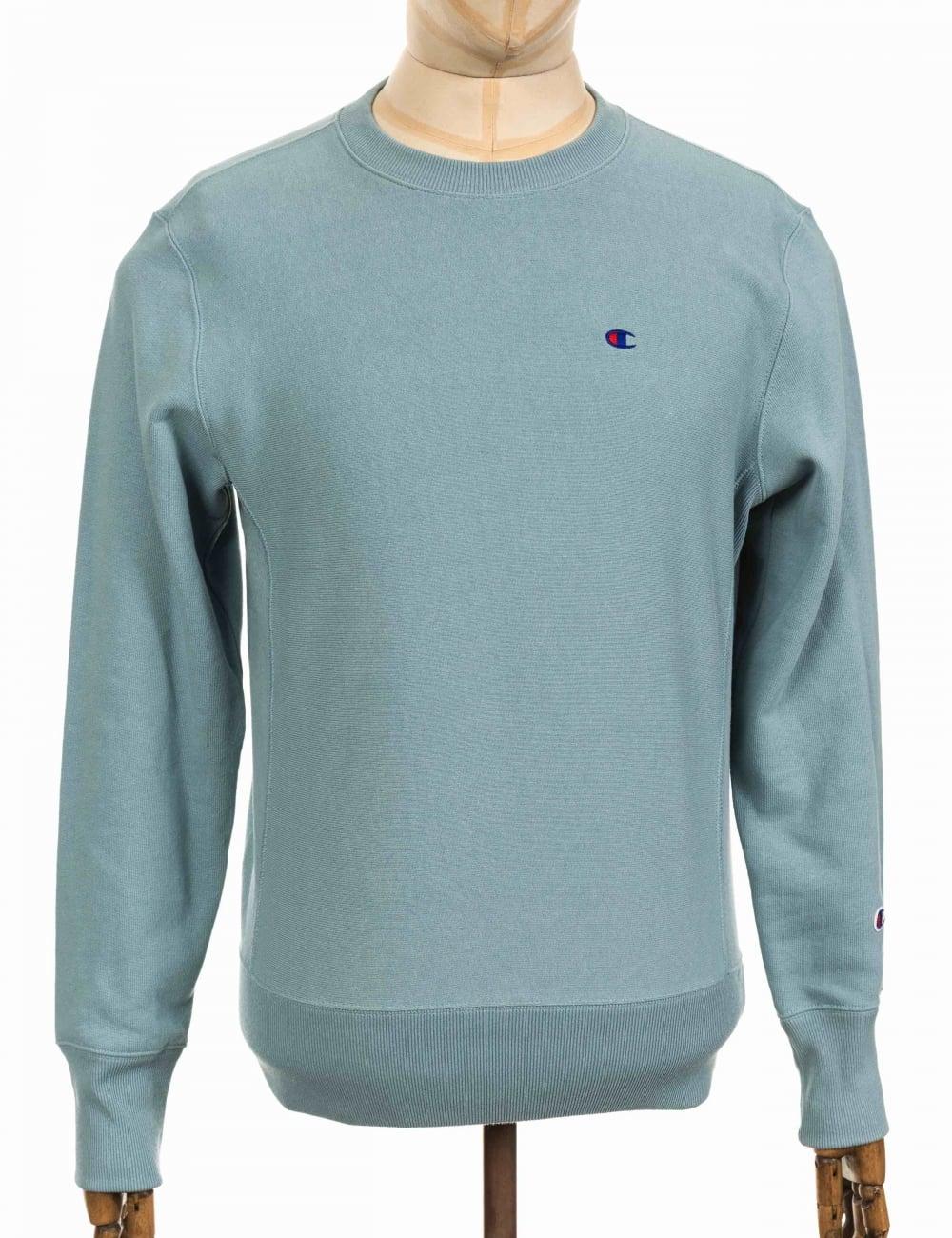 Blue Crewneck Cgr Sweatshirt Cgr Crewneck Blue Sweatshirt Crewneck R54Aj3L
