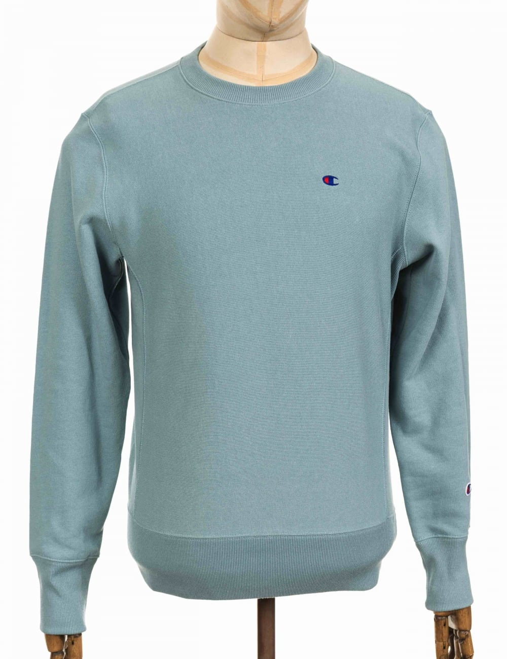 041b86b23352 Champion Reverse Weave Crewneck Sweatshirt - CGR Blue - Clothing ...