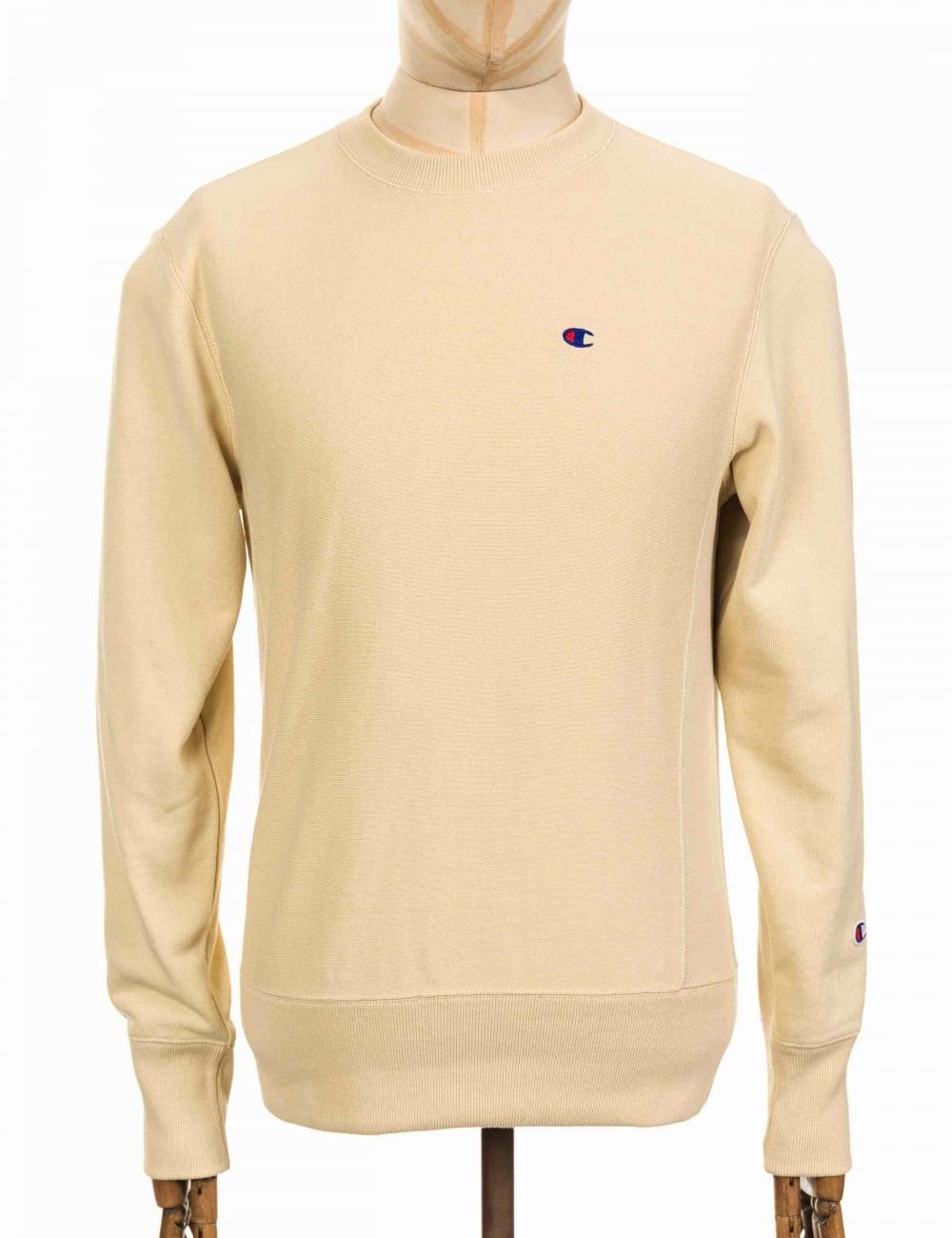 de0fdcbc7378 Champion Reverse Weave Crewneck Sweatshirt - PLK Sand - Clothing ...