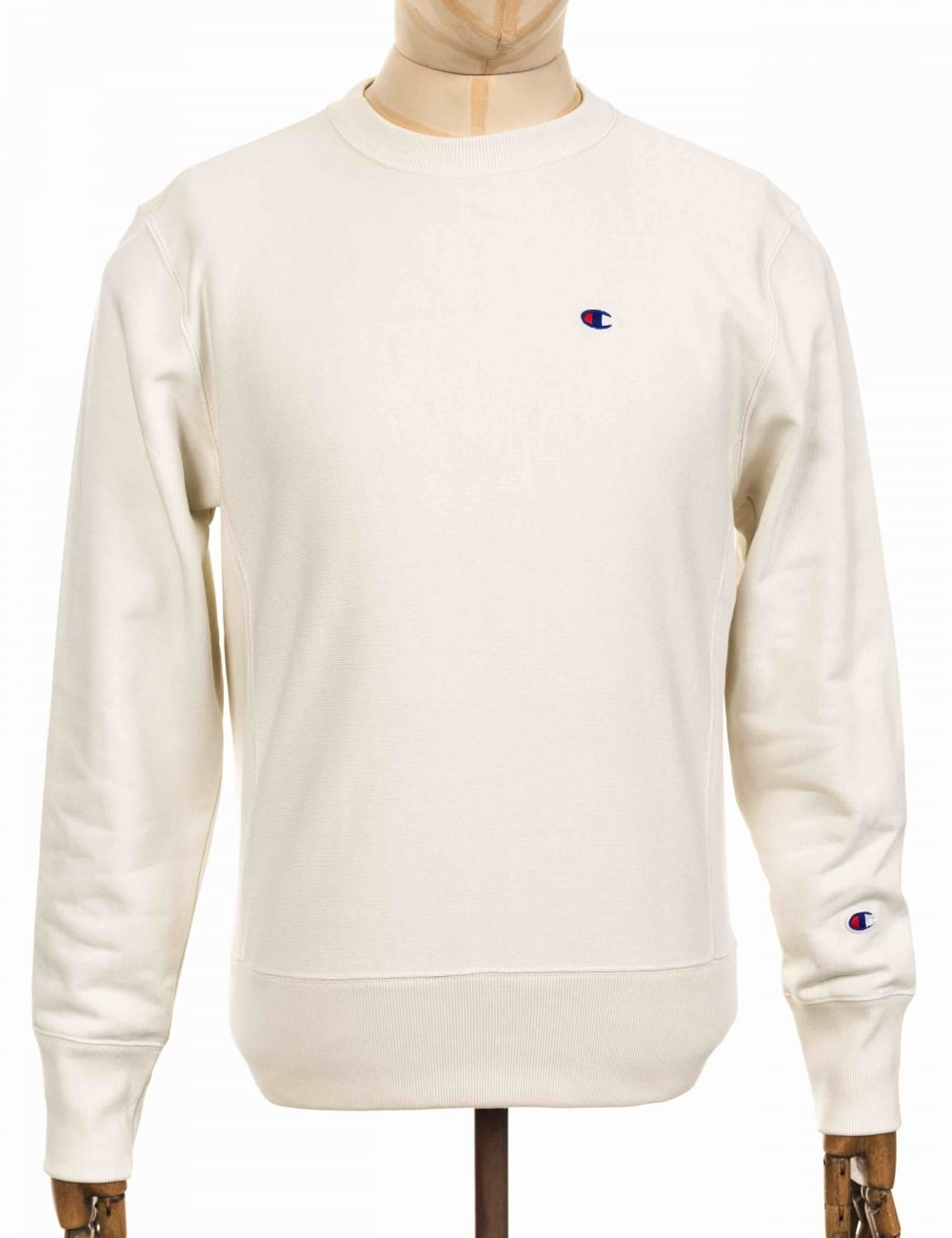 fdffc07a Champion Reverse Weave Crewneck Sweatshirt - VAPY White - Clothing ...