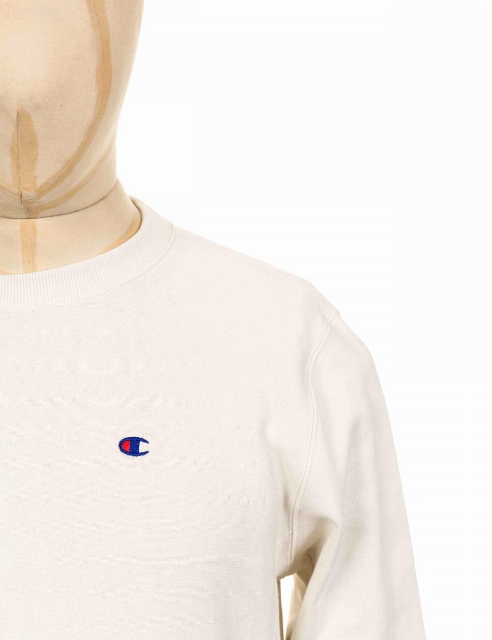 3290beefd Champion Reverse Weave Crewneck Sweatshirt - VAPY White - Clothing ...