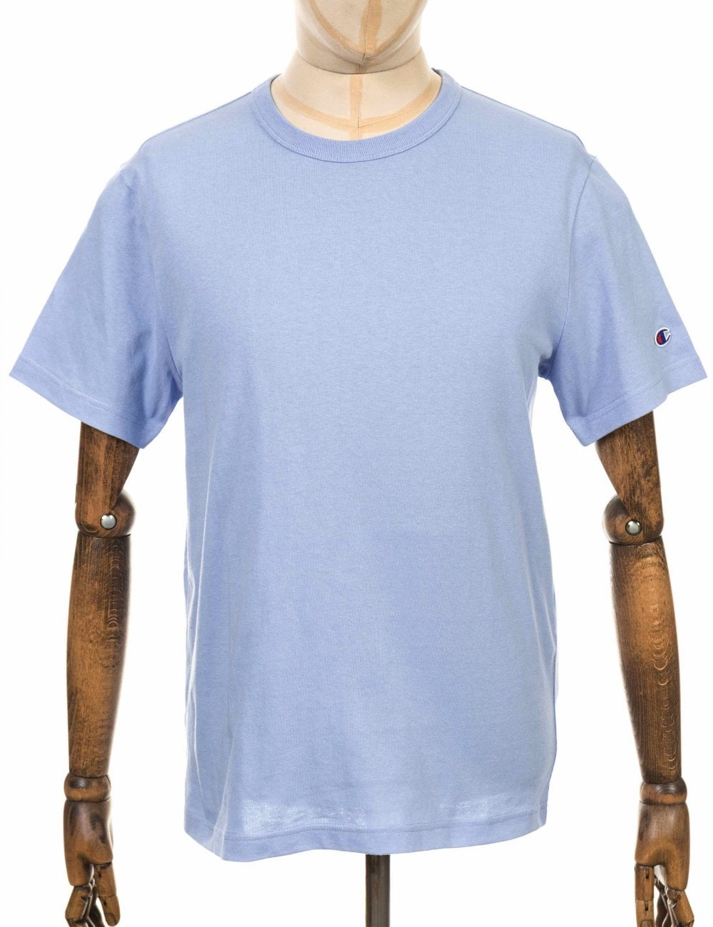 3b5170d1fc69 Champion Reverse Weave Crewneck Tee - LLU Light Blue - T Shirts from ...