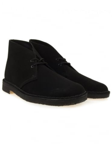 Desert Boot - Black Suede