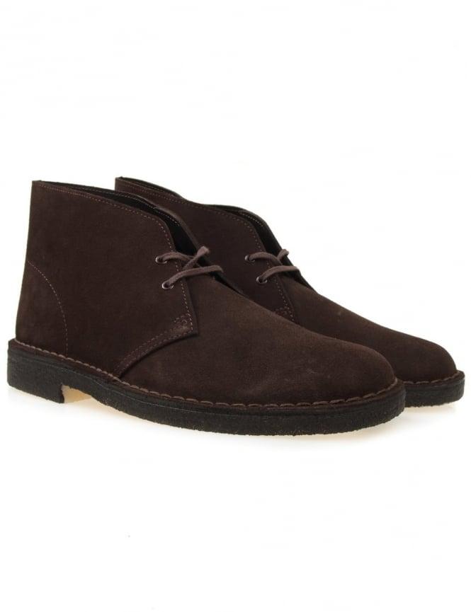 Clarks Originals Desert Boots - Brown Suede