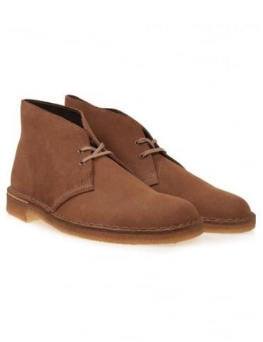 Clarks Originals Desert Boots - Cola Suede