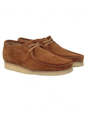 Wallabee Shoes - Cola Natural Suede