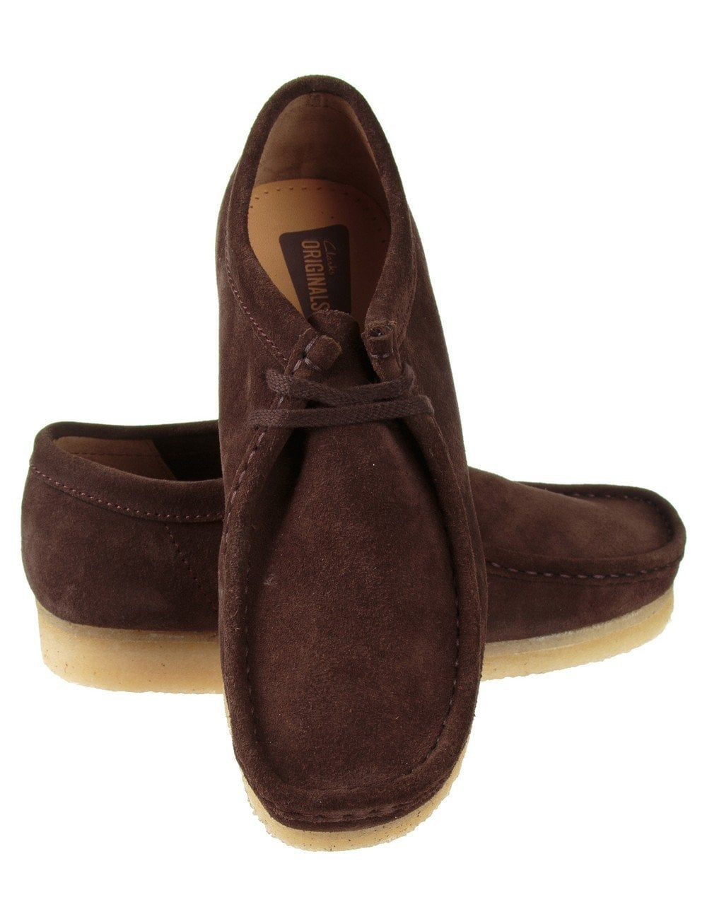 aesthetic appearance best choice favorable price Wallabee Shoes - Dark Brown Suede
