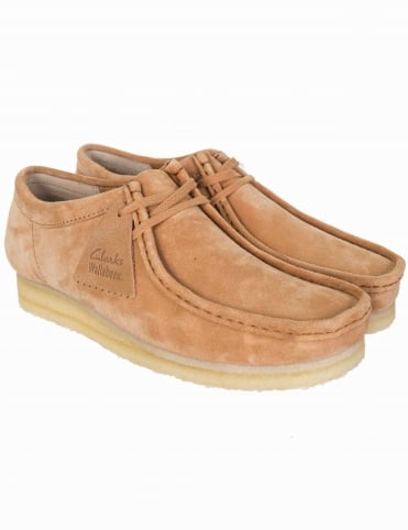 Wallabee Shoes - Fudge Suede