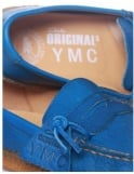 Clarks Originals X YMC Edmund Create Shoes - Cobalt Leather