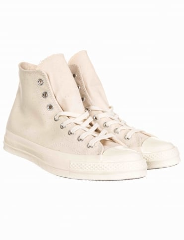 1970s Chuck Taylor All Star Hi - Natural/Clematis Blue/Egret