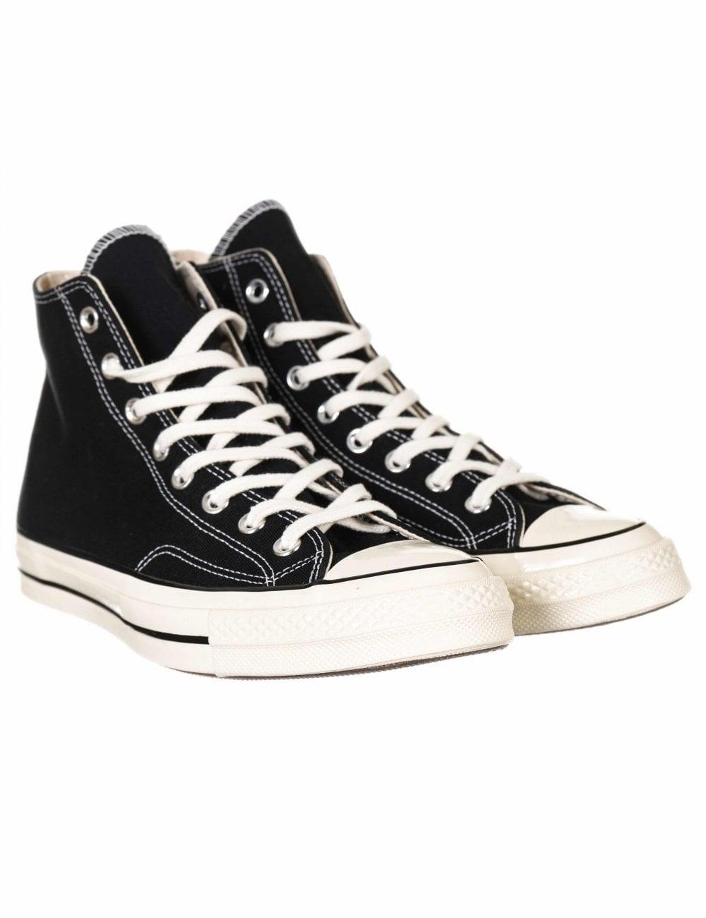 416620663f8 Converse 1970s Chuck Taylor All Star Hi Trainers - Black/Black/Egret ...