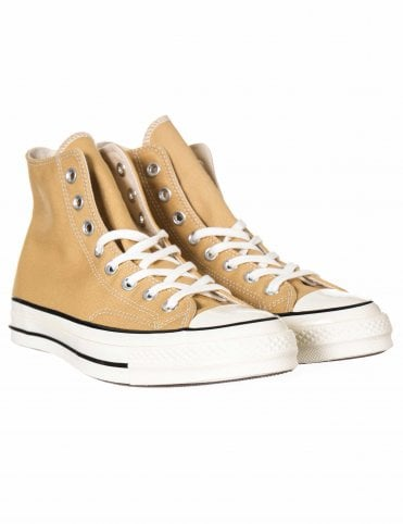 3733e9f8733e80 Converse 1970s Chuck Taylor All Star Hi Trainers - Club Gold Egret