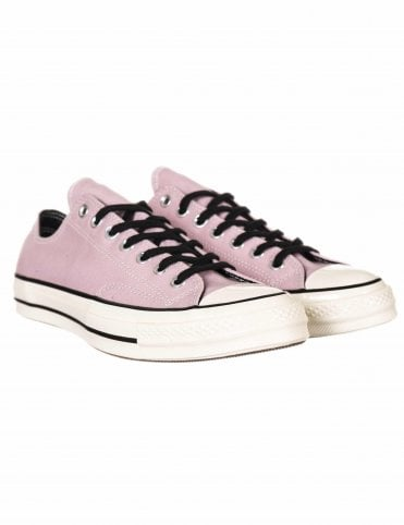 b739f520cb7c3f Converse 1970s Chuck Taylor All Star Ox Trainers - Plum Chalk Black Egret