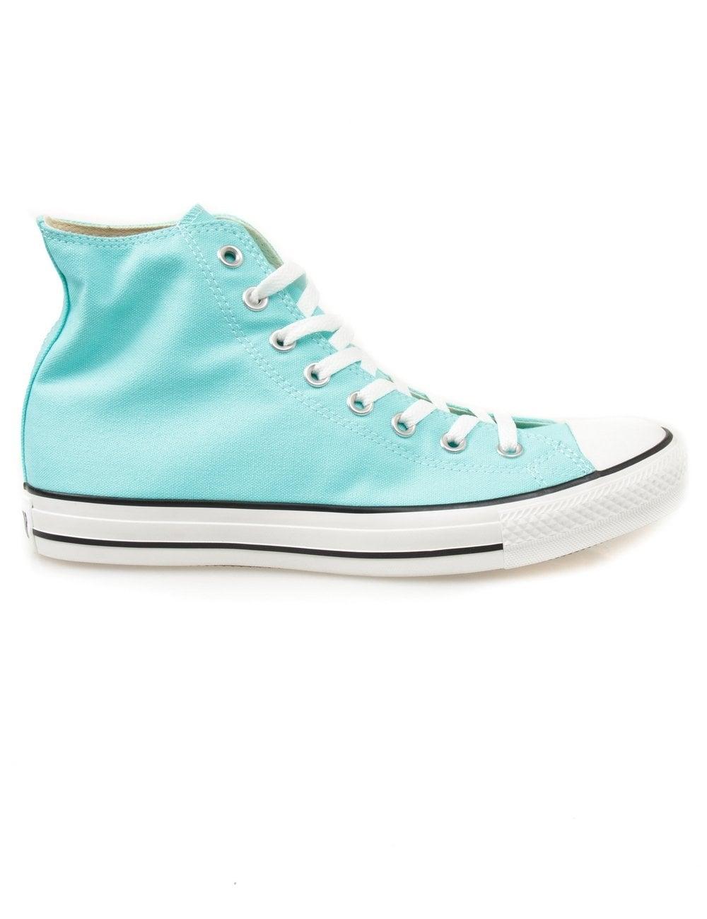 f3ad3009bf75 Converse All Star Hi - Aruba Blue - Footwear from Fat Buddha Store UK