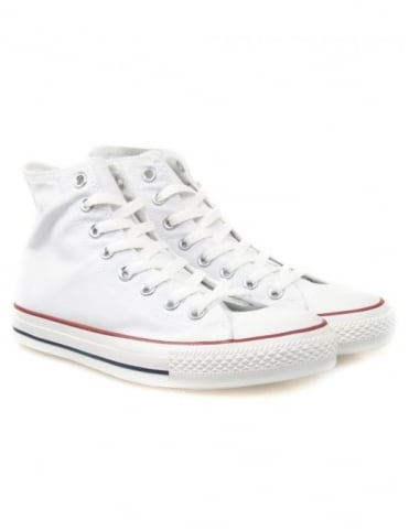 All Star Hi Shoes - Optic White