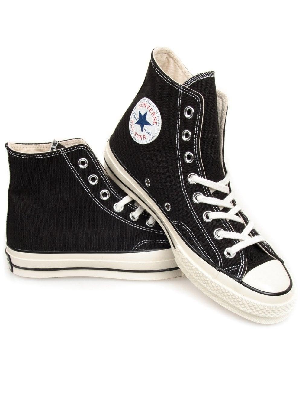 converse 70s. chuck taylor 70s hi boots - black converse t