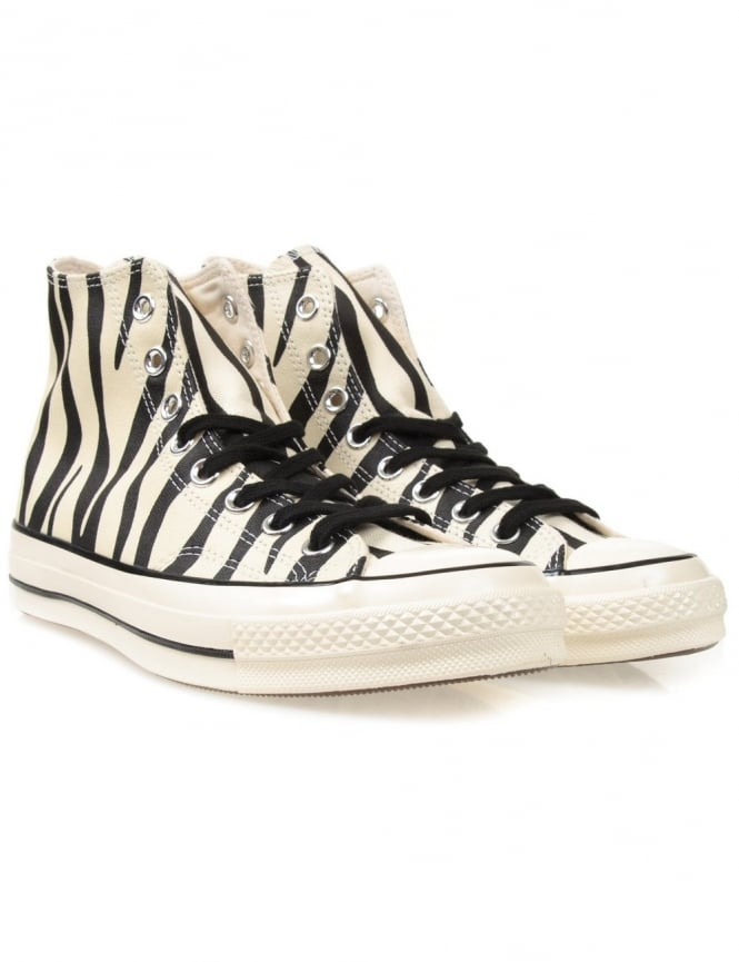 Converse Chuck Taylor 1970s Hi Shoes - Zebra