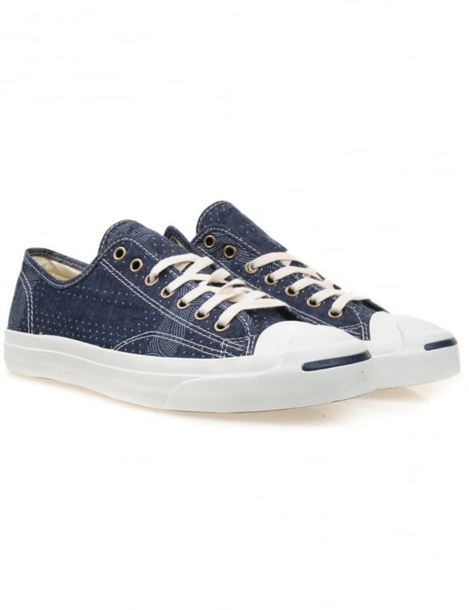 Converse Jack Purcell Jack Ox Shoes - Dozar Blue