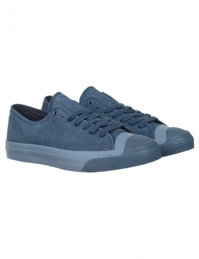 Converse Jack Purcell Jack Ox Shoes - Navy/Navy
