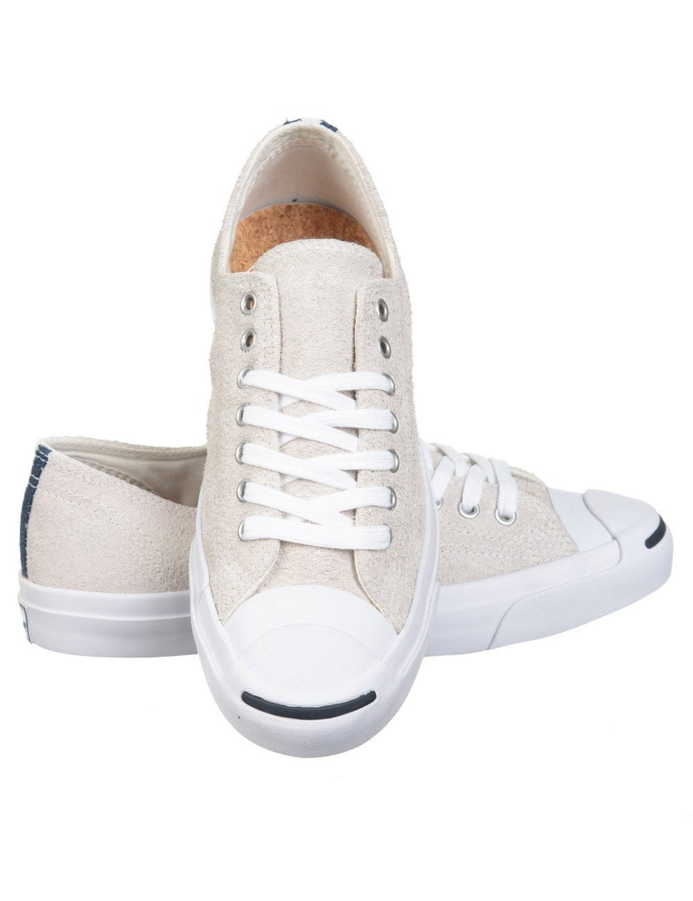 723fdccd9dc8 Converse Jack Purcell Jack Ox Shoes - Vaporous Grey - Footwear from ...
