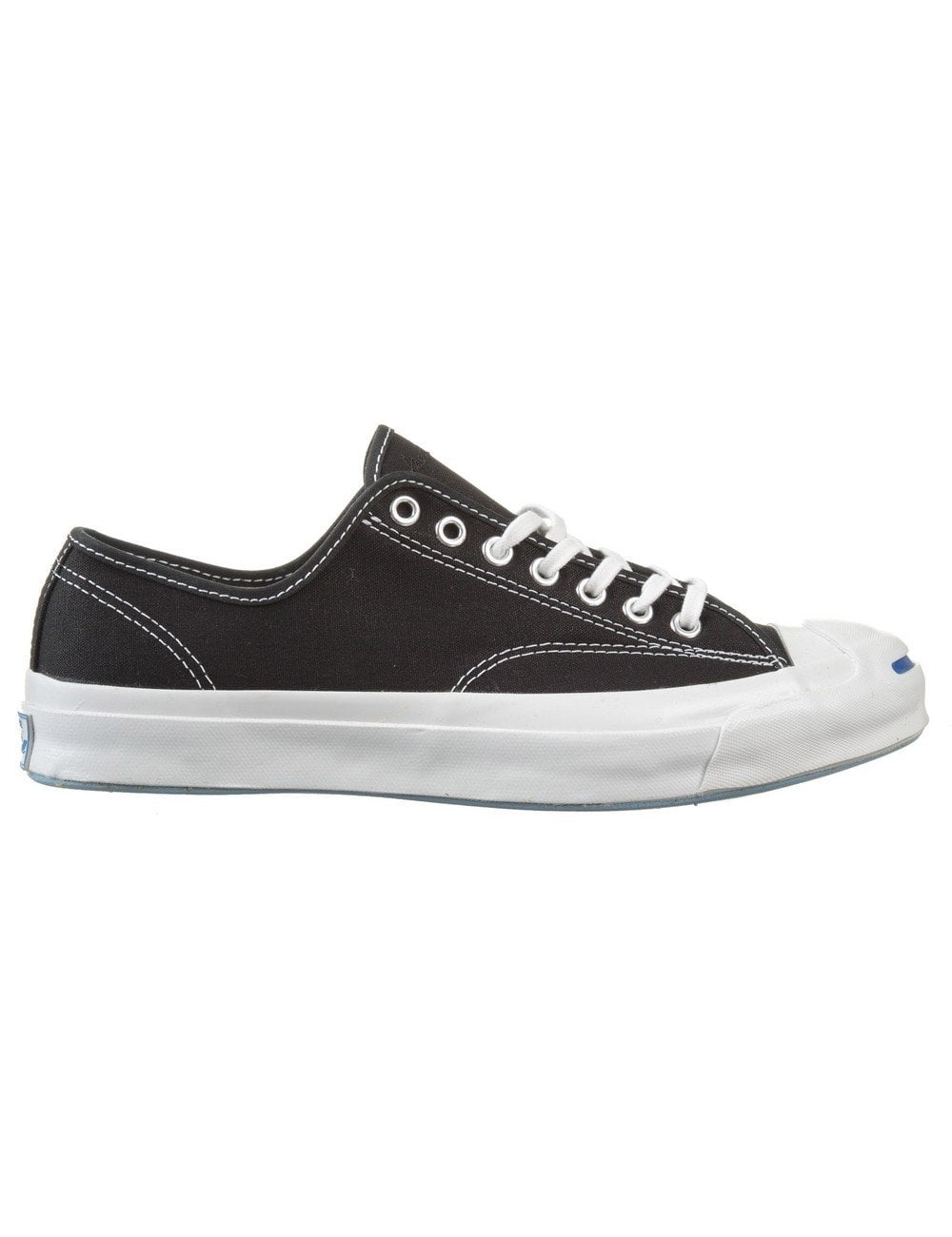 88035bcbd45f Converse Jack Purcell Signature Shoes OX - Black - Trainers from Fat ...