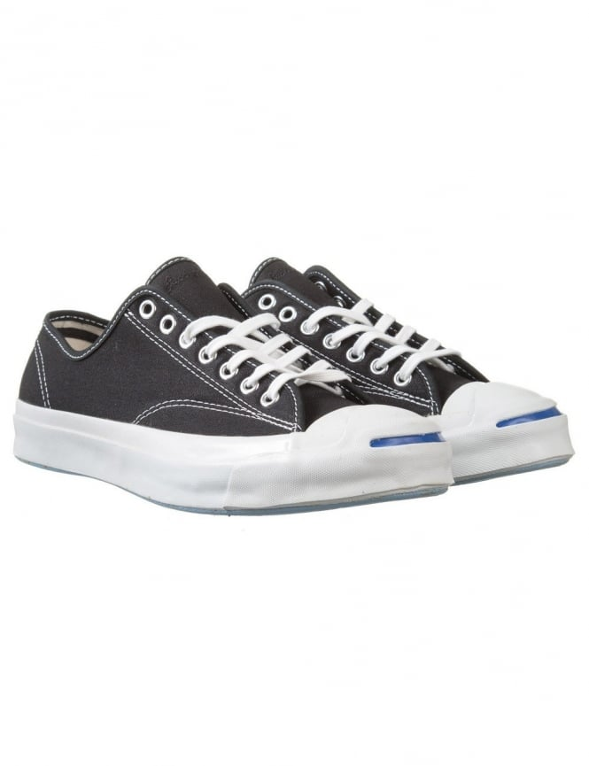 b882f8bc44f Converse Jack Purcell Signature Shoes OX - Black - Trainers from Fat ...