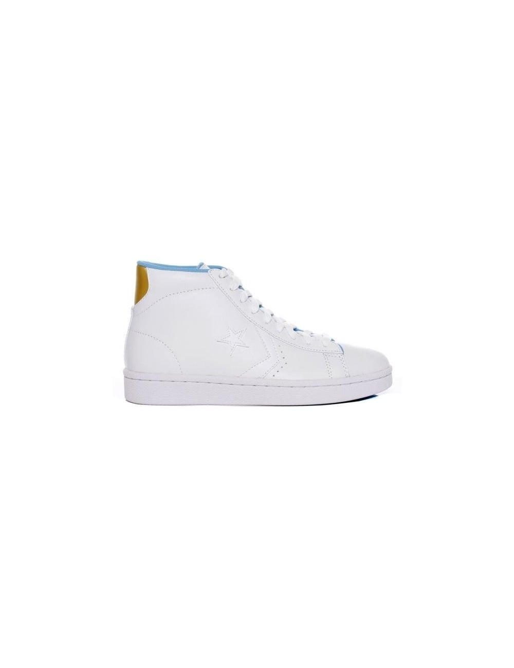 sports shoes 65d04 da55e Pro Leather Mid - White