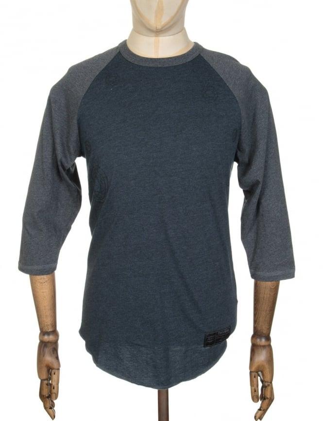 Converse x Futura 2 Raglan Placeholder T-shirt - Black H