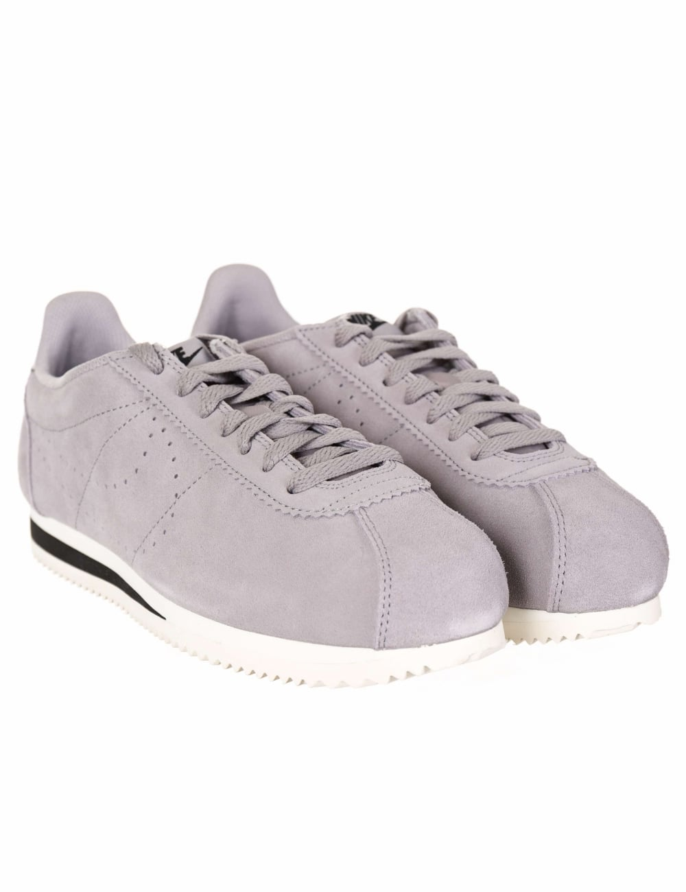 buy online bcc7a 91660 Cortez Suede Trainers - Atmosphere Grey