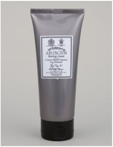 D R Harris Luxury Lather Shaving Cream Tube - Arlington - 75g