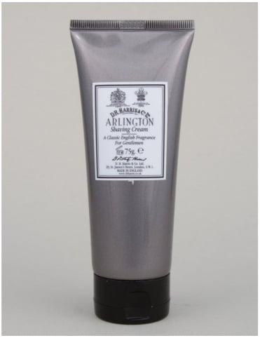 D R Harris Luxury Lather Shaving Cream Tube - Arlington - 75g