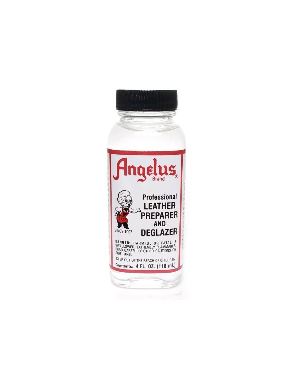 angelus dyes paint deglazer 4oz spray paint supplies from fat. Black Bedroom Furniture Sets. Home Design Ideas