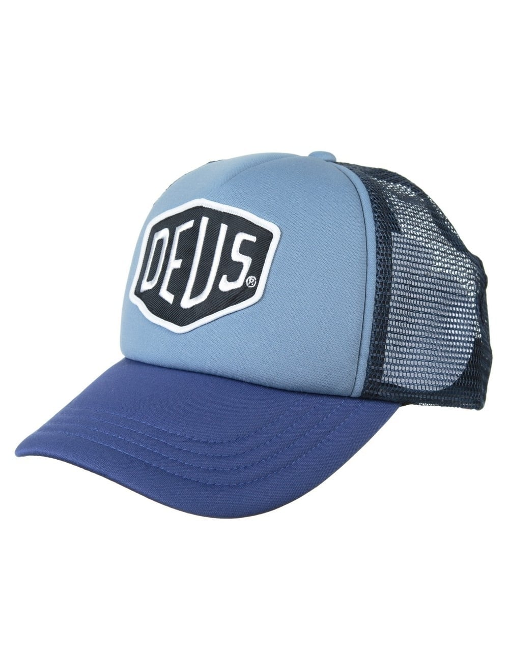 54094847730 Deus Ex Machina Baylands Trucker Hat - Blue Navy - Accessories from ...