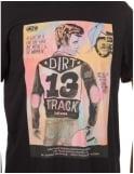 Deus Ex Machina Dirty 1 T-Shirt - Jet Black