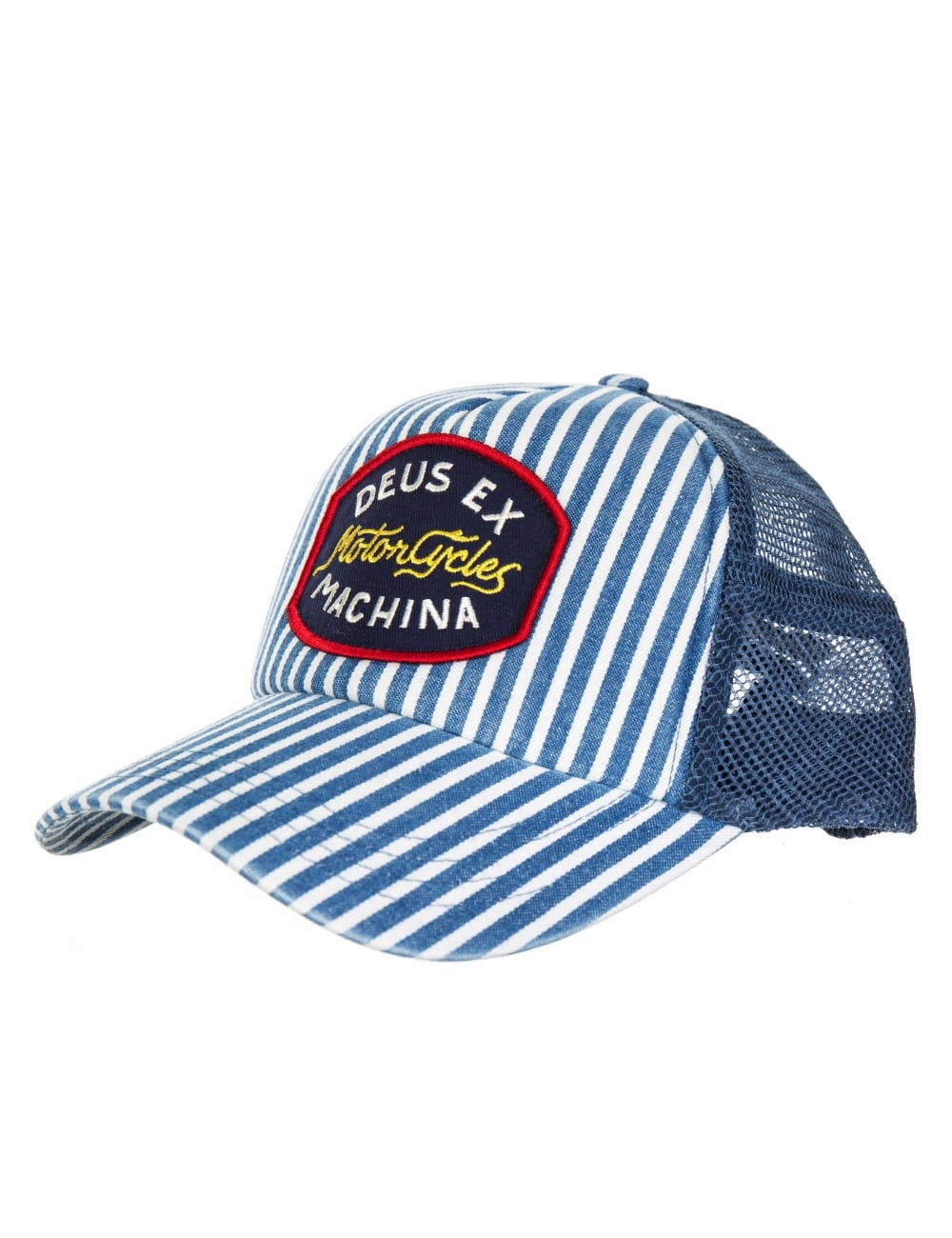 Deus Ex Machina Ford Trucker Hat - Indigo - Hat Shop from Fat Buddha ... 8ea8f0bc000