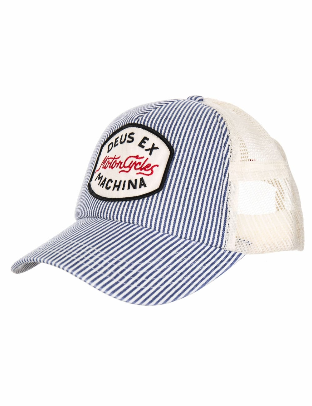 66cbbee910ba1 Deus Ex Machina Ford Trucker Hat - Off White - Hat Shop from Fat ...
