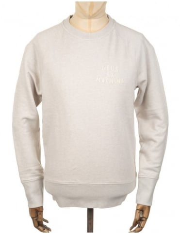 Deus Ex Machina Francis Sweatshirt - Natural Marle