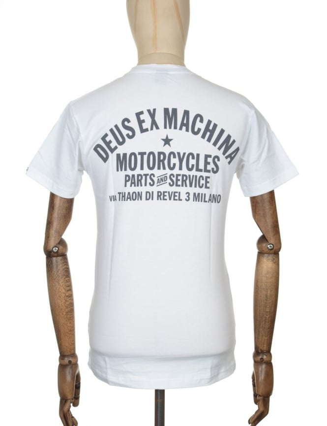 Deus Ex Machina Milano Address T-shirt - White