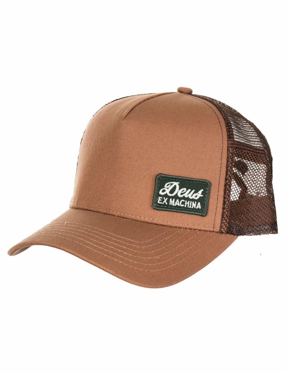 108a040e938 Deus Ex Machina Morgan 2 Trucker Hat - Tan - Hat Shop from Fat ...