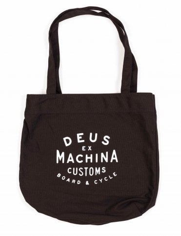 Deus Ex Machina New Classic Tote Bag - Black cdfe2e42409f5