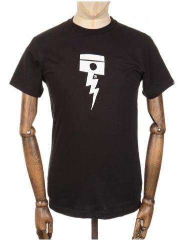 Deus Ex Machina Pisstin T-shirt - Black