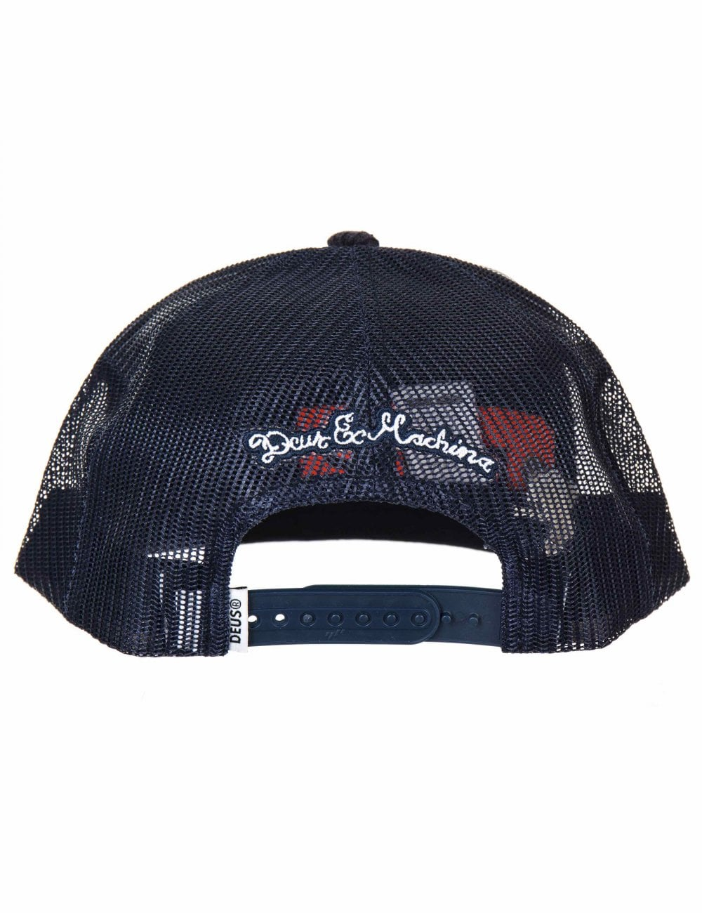 6a2db0f356b Deus Ex Machina Shop Trucker Hat - Navy - Accessories from Fat ...