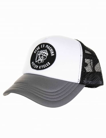 Smokey Trucker Hat - Grey