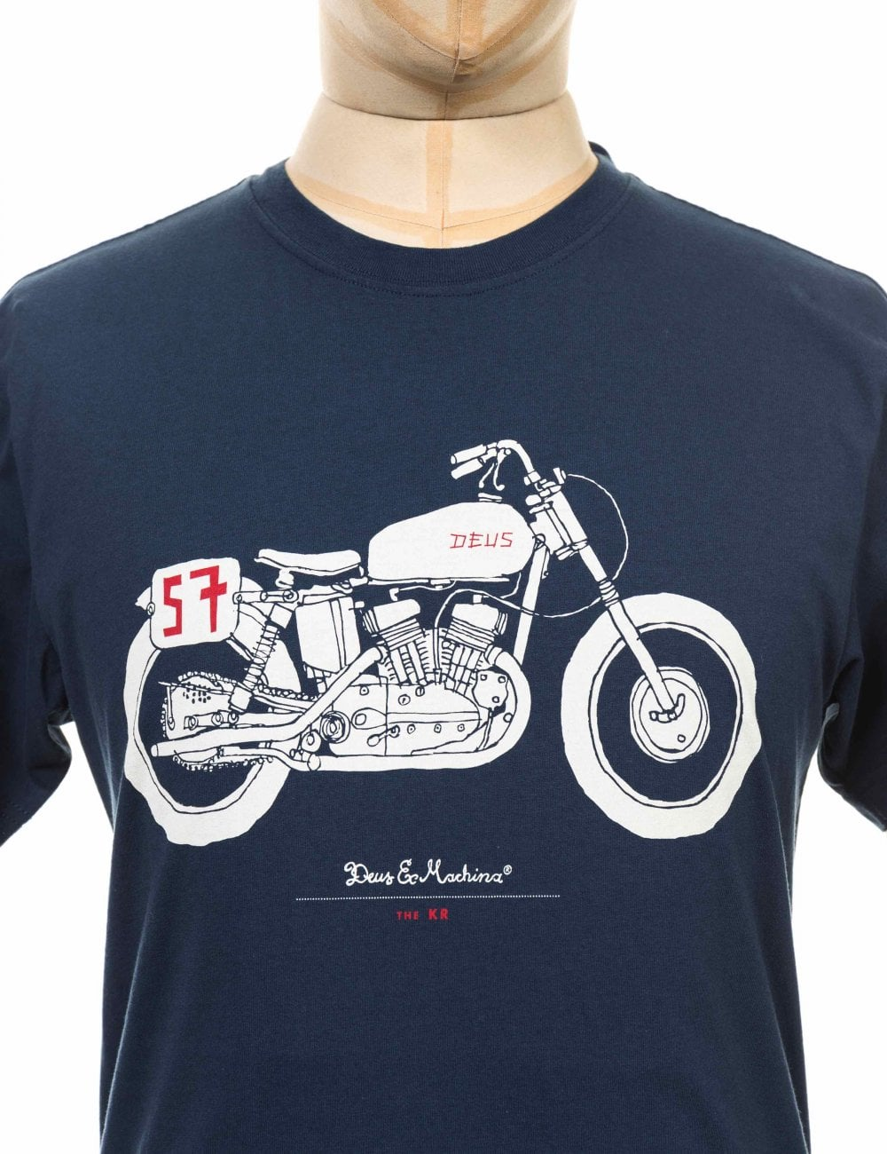 32a6392f0 The KR Tee - Navy