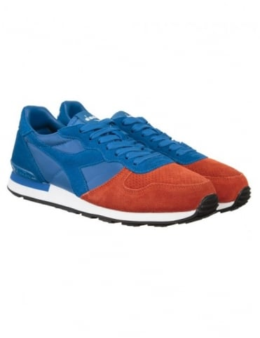 Diadora Camaro Shoes - (Double Pack) Blue Reflex/Brown Purple