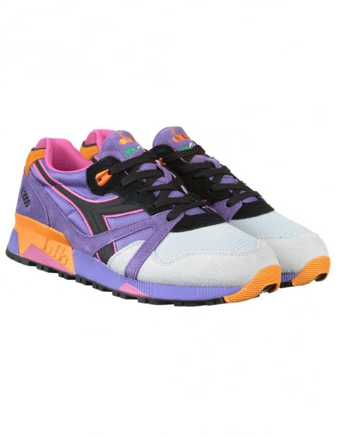 Diadora N9000 Nylon Shoes - Violet Purple Oppulence
