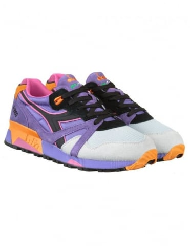 Diadora N9000 Nylon Shoes - Violet Purple Oppulence