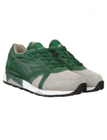 Diadora N9000 Shoes - (Double Pack) Foliage Green/Paloma Grey