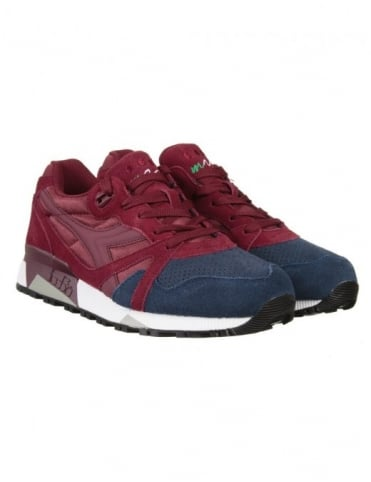 Diadora N9000 Shoes - (Double Pack) Violet Brick/Blu Corsair