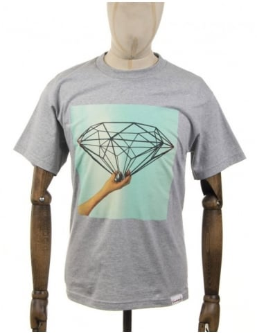 Diamond Supply Co Architect T-shirt - Heather Grey